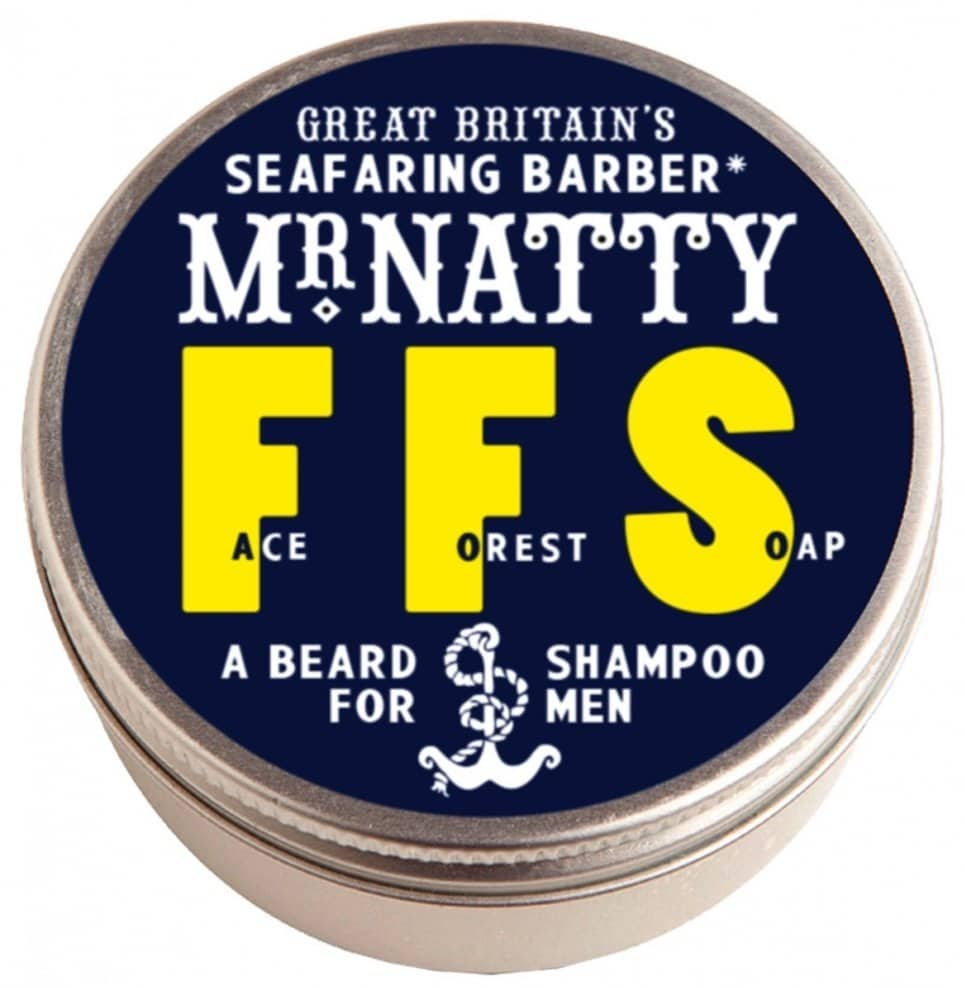 Shampoing pour barbe FFS Mr. Natty