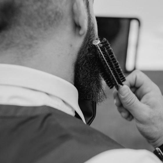 Utilisations de la brosse à barbe
