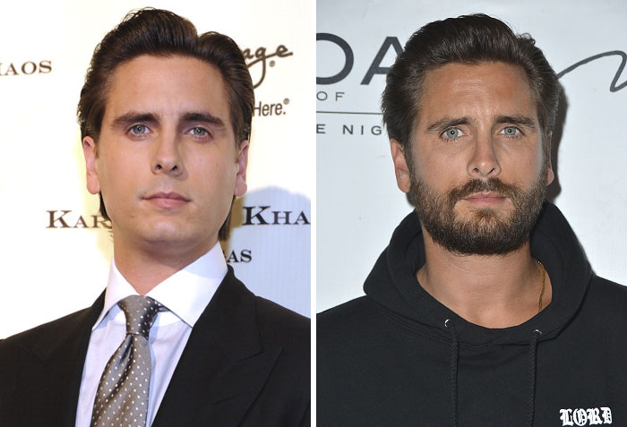 Scott Disick barbe