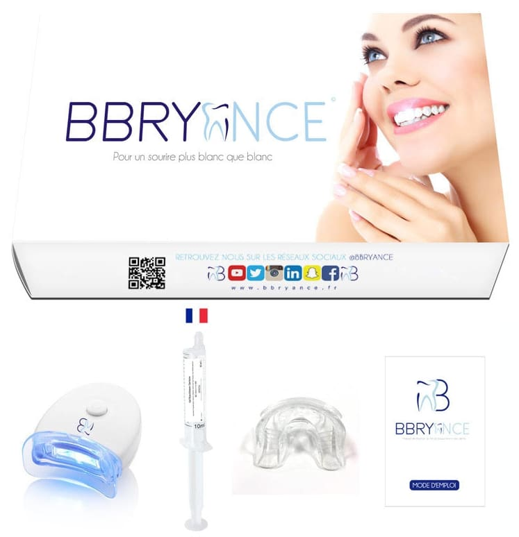 Kit de blanchiment des dents BBryance