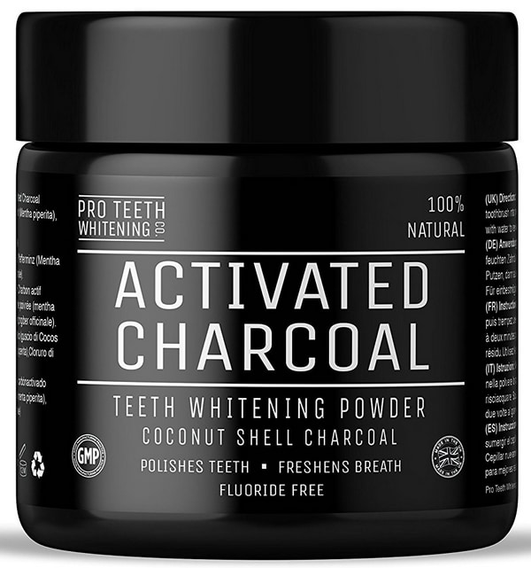 Charbon actif Pro Teeth Whitening Co