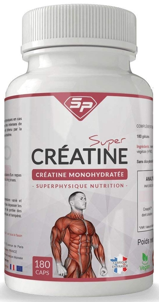 Créatine SuperPhysique Nutrition Super Créatine