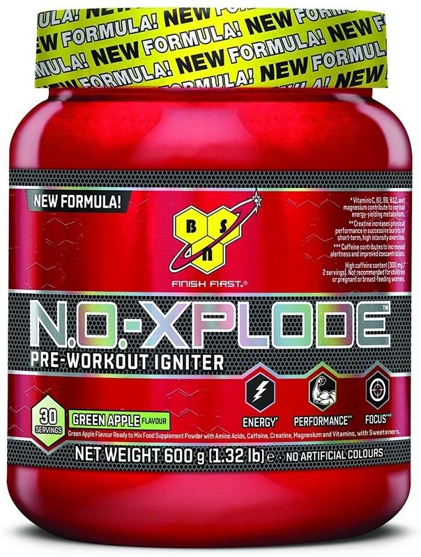 Pre workout BSN No Xplode