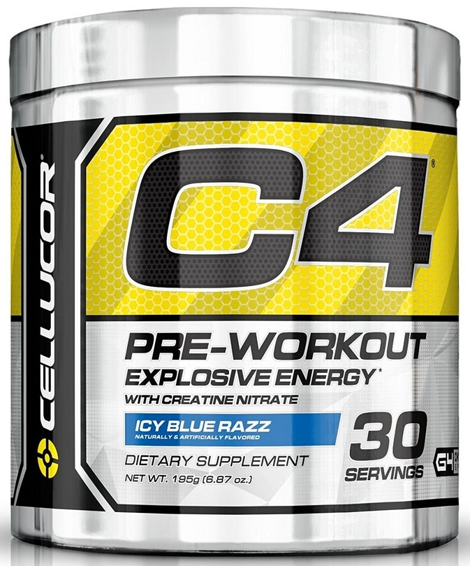 Pre workout Cellucor C4