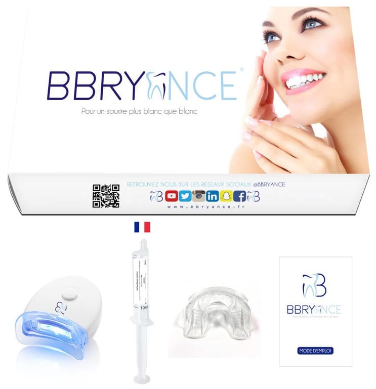 Test du kit de blanchiment des dents BBryance