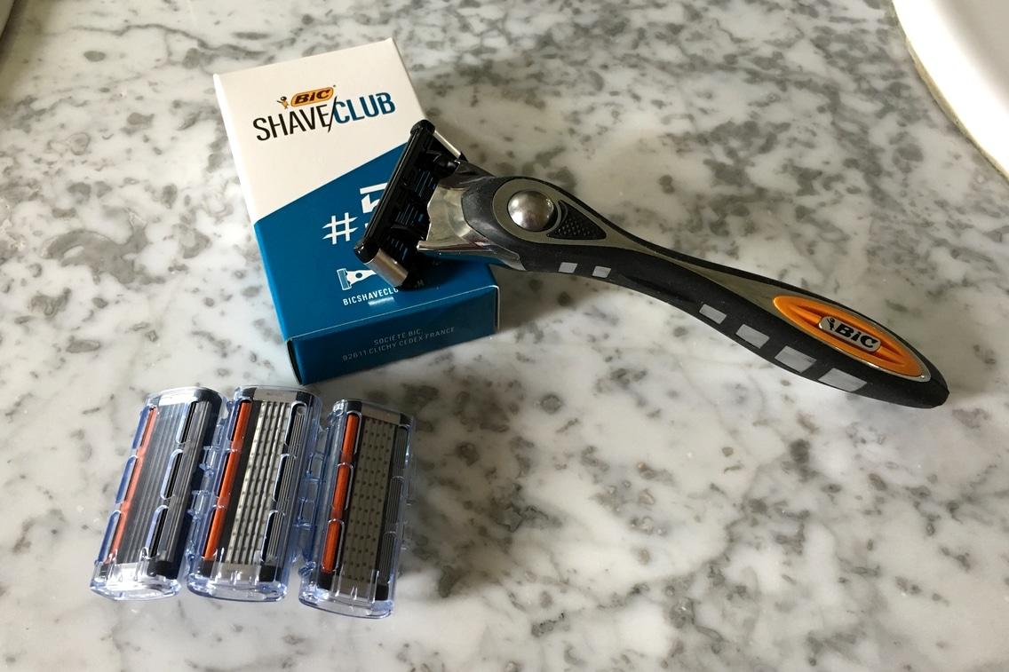 Bic Shave Club test rasoir