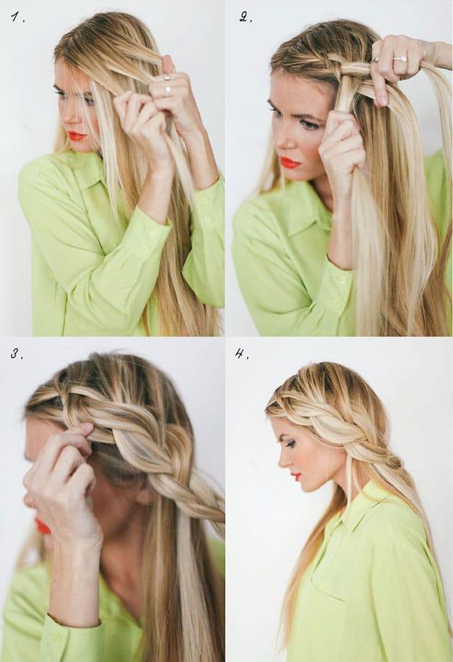 coiffure de soiree lache pour femme