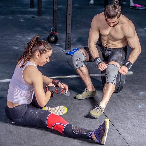 Meilleures genouillères CrossFit et haltérophilie