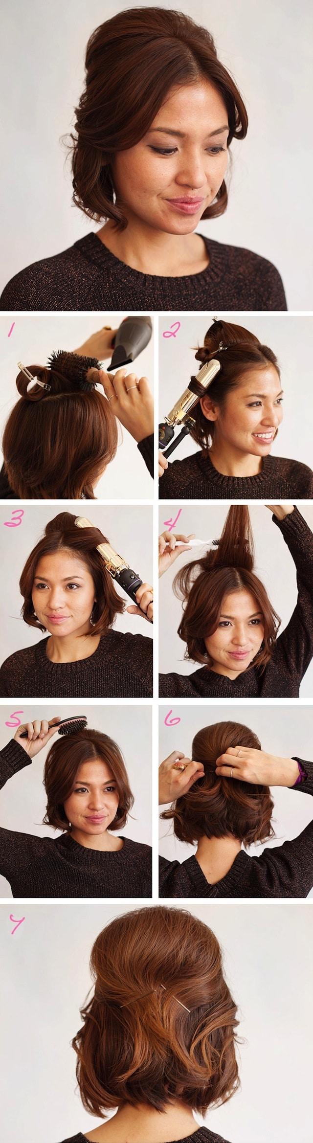 10 Coiffures Pour Cheveux Courts A Essayer Absolument 2021