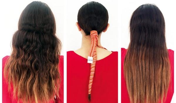 Lisser cheveux naturellement ruban lisseur kardoune