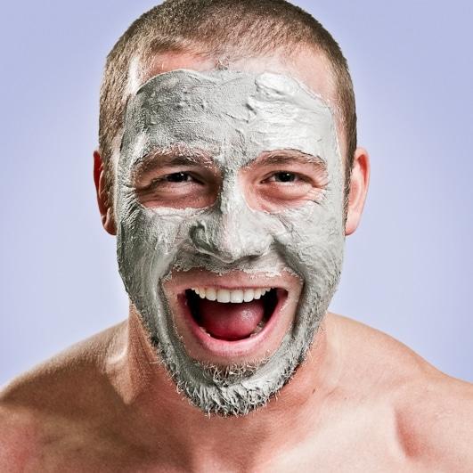 Poils incarnés barbe gommage exfoliation