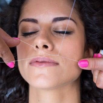 Utiliser crème dépilatoire visage alternative