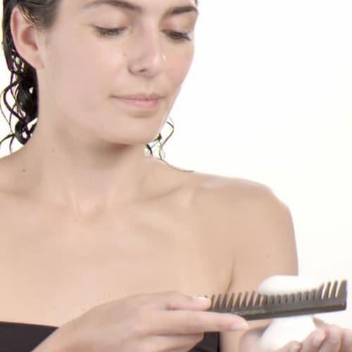 Utiliser fer à boucler préparation des cheveux