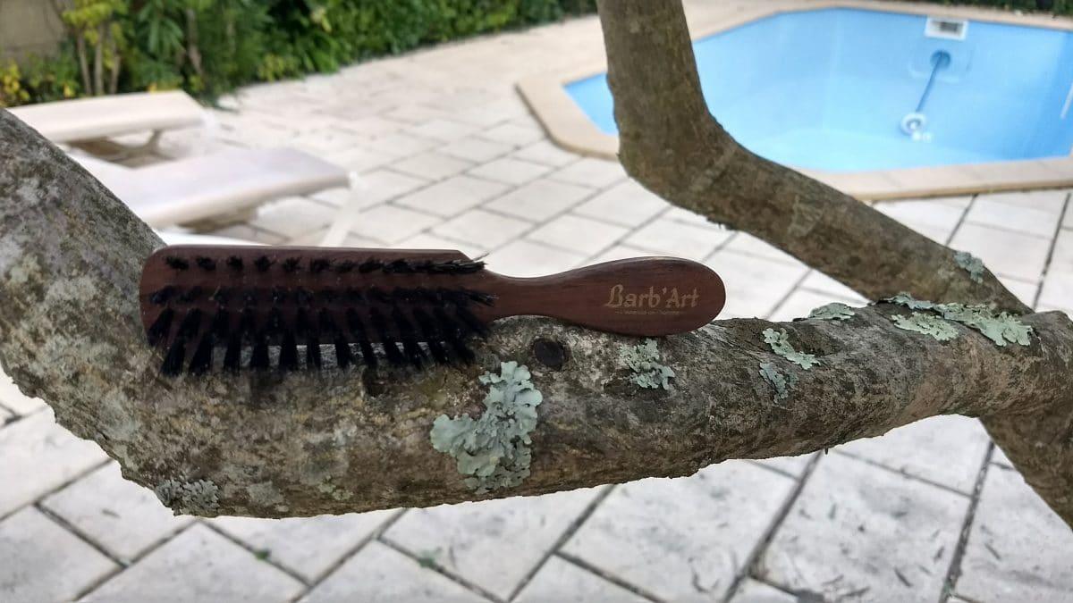 brosse à barbe barb'art