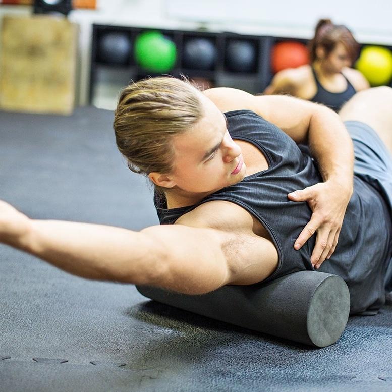 Améliorer mobilité rouleau de massage exercices