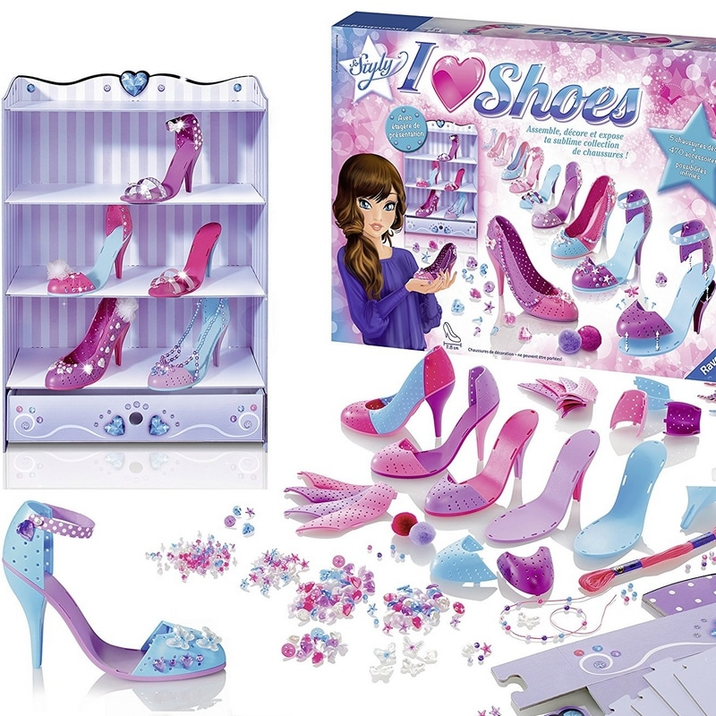 Jouet Noël Créer chaussures So Styly I Love Shoes