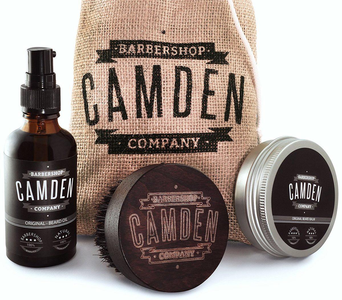 Kit coffret entretien barbe Camden