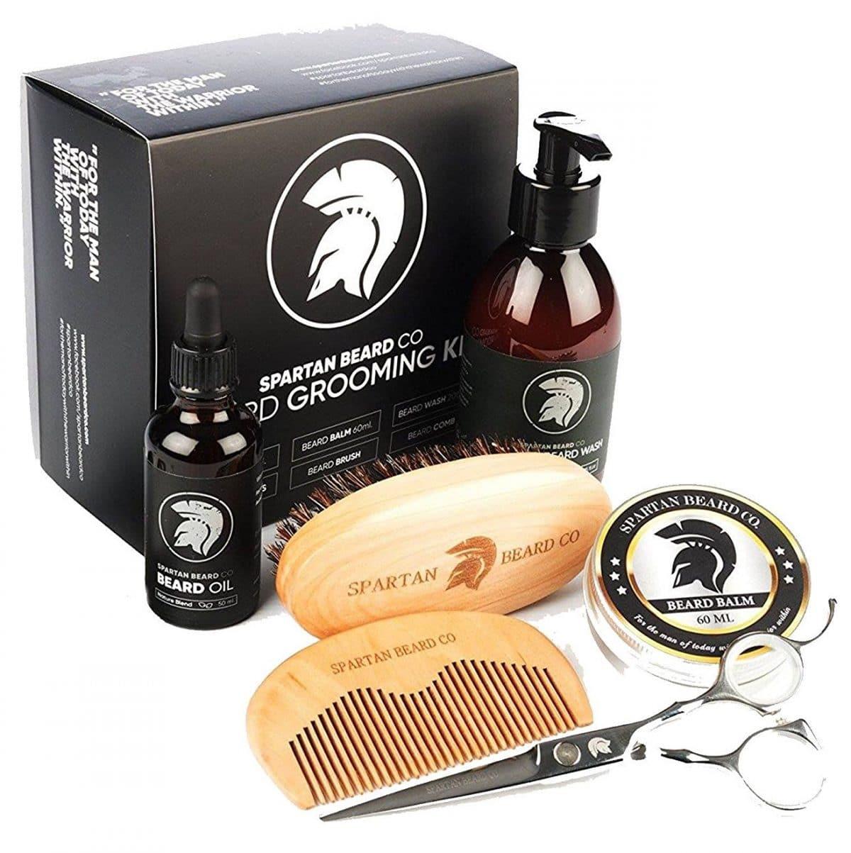 Kit coffret entretien barbe Spartan