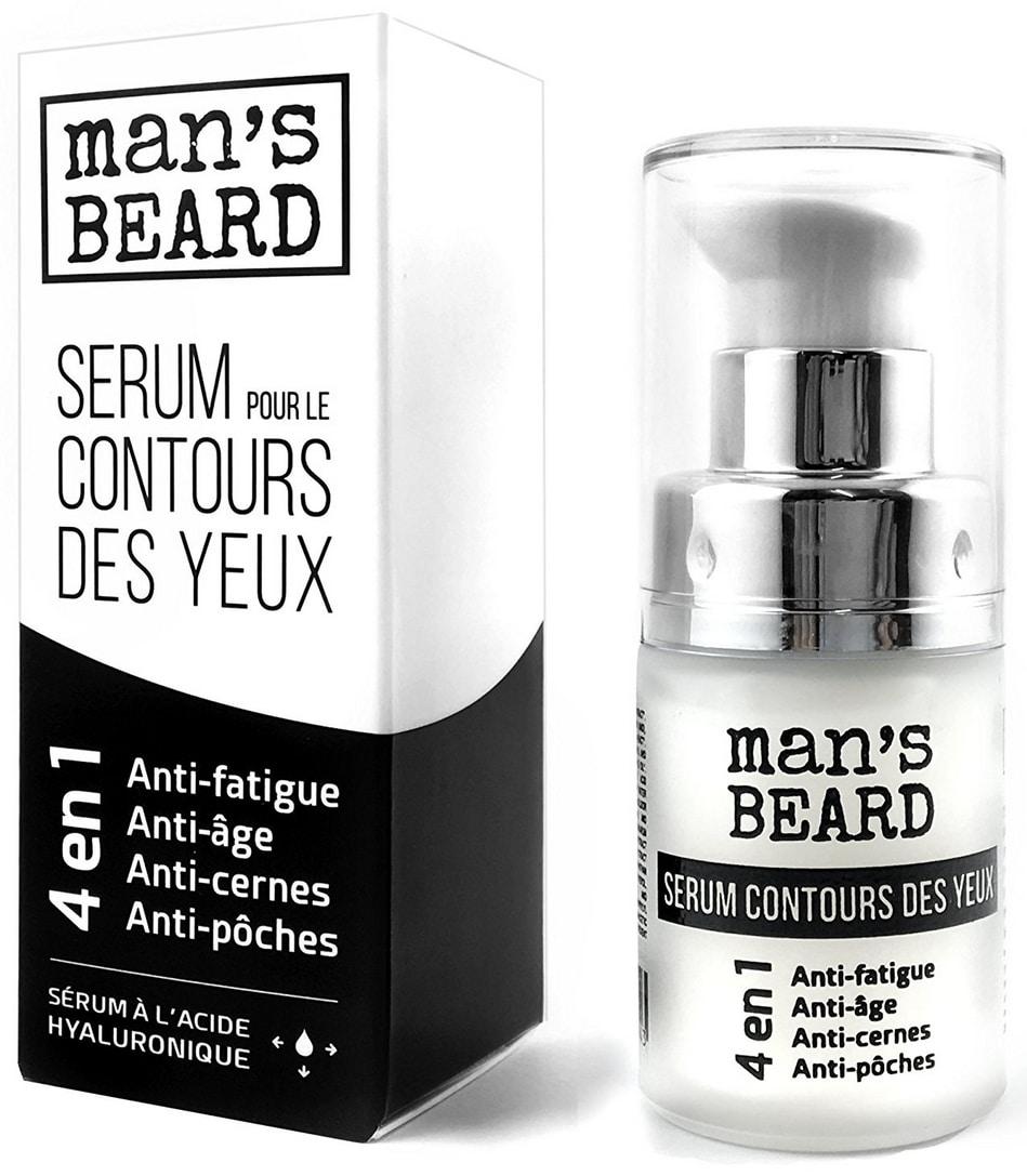 Anti cernes sérum pour le contour des yeux de Man's Beard