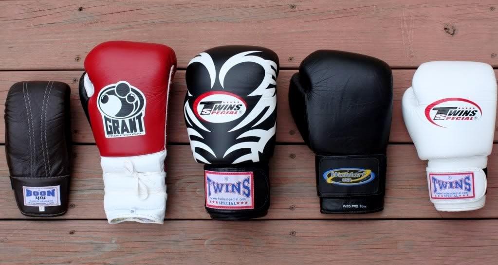 Choisir gants de boxe taille