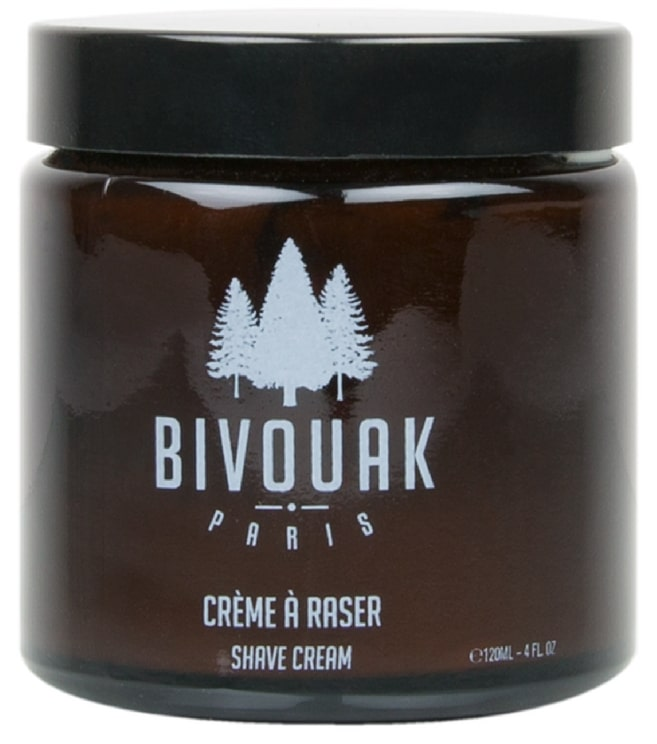 Crème à raser Bio de Bivouak