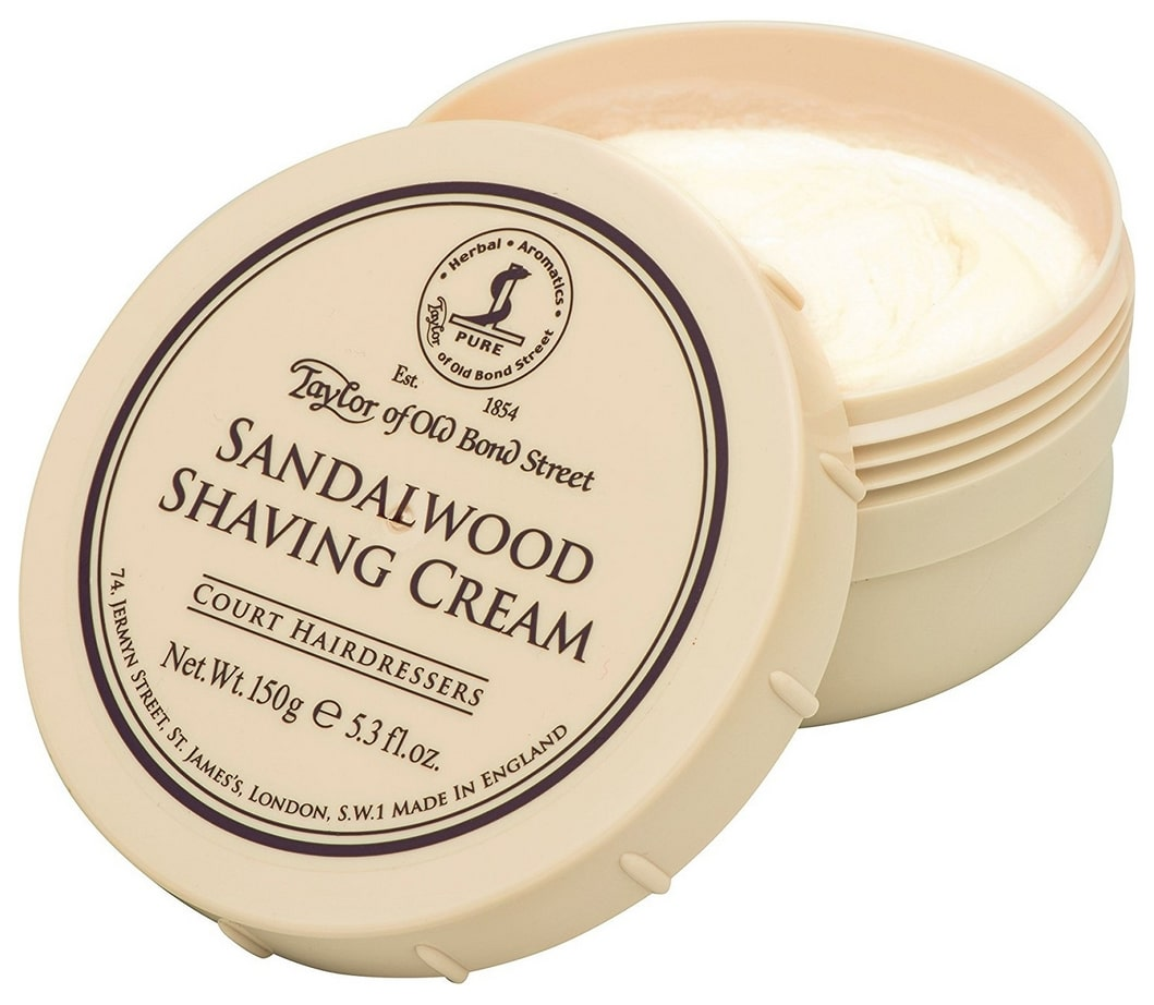Crème à raser Taylor of Old Bond Street au bois de santal