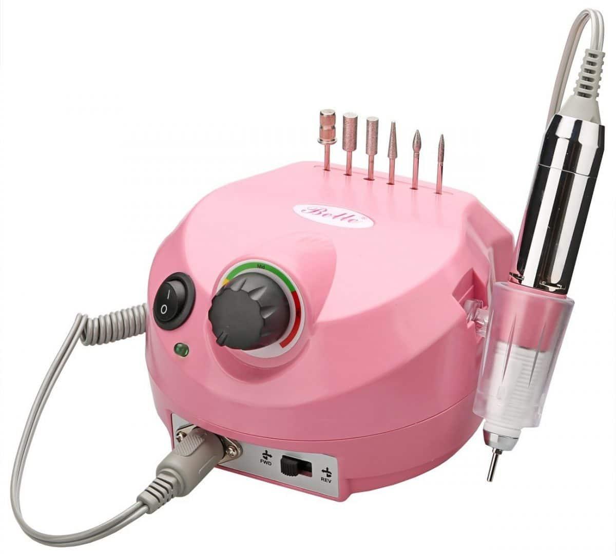 Ponceuse à ongles Belle Pink 220V