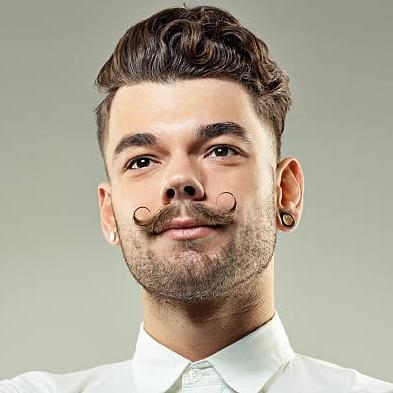 Tailler moustache guidon
