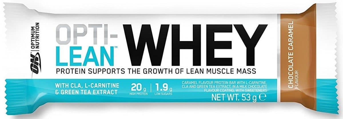 Barre protéinée Opti Lean Whey de Optimum Nutrition
