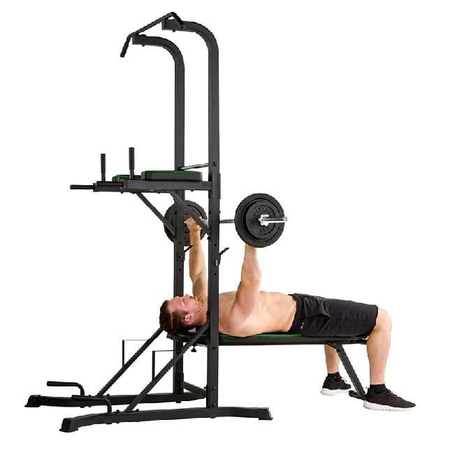 Exercices chaise romaine haltères
