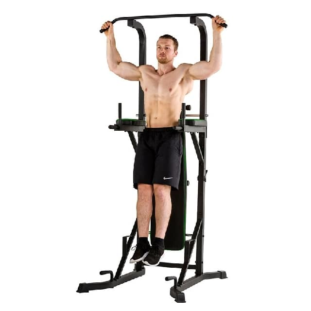 Exercices chaise romaine traction pronation