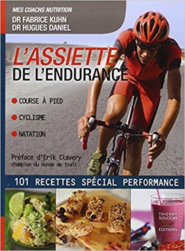 Livre nutrition sportive L'Assiette de l'endurance