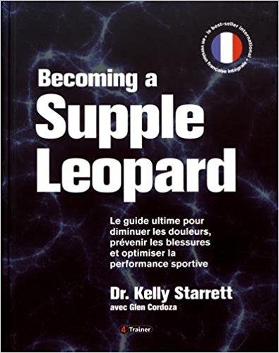 Livre stretching étirement Becoming a Supple Leopard