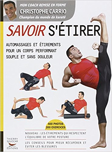 Livre stretching étirement Savoir s'étirer