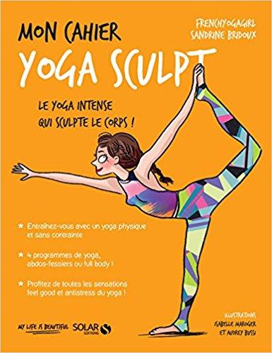 Livre yoga Mon cahier Yoga sculpt