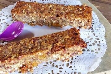 Recette barre protéinée paléo sans gluten