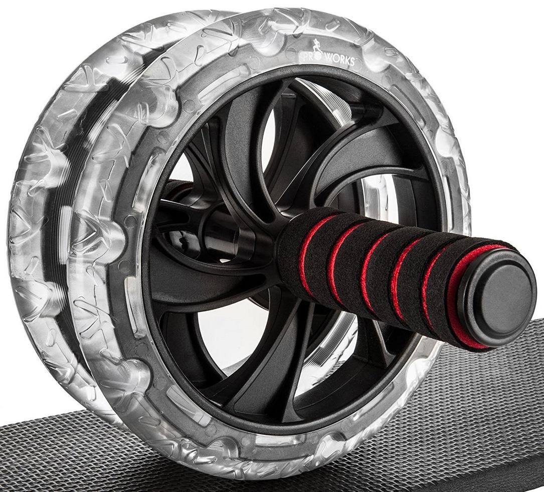 Appareil abdominaux roue Proworks