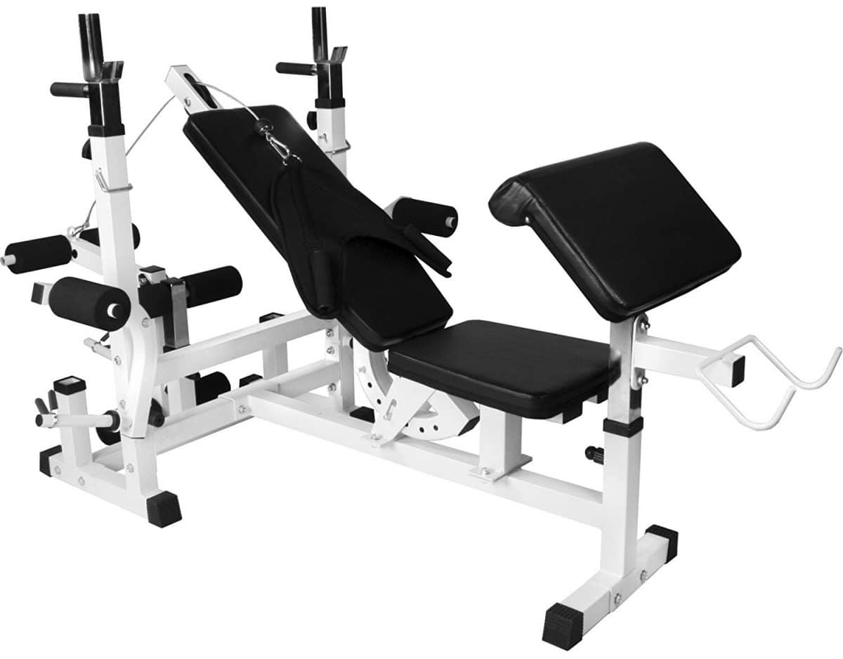 Banc de musculation Gorilla Sports 100115