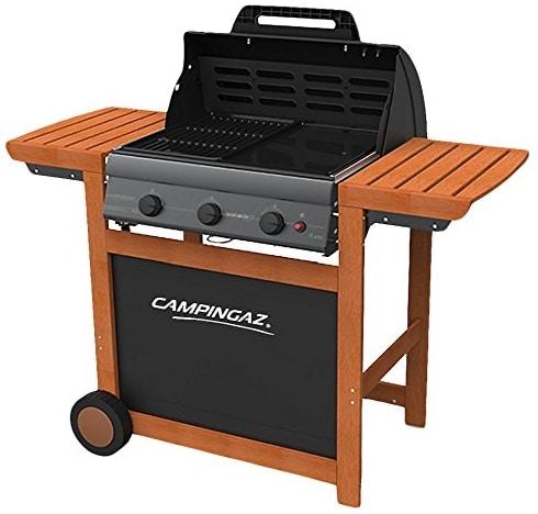 Barbecue gaz Campingaz Adelaïde 3 Woody L