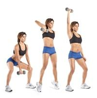 Exercice kettlebell snatch