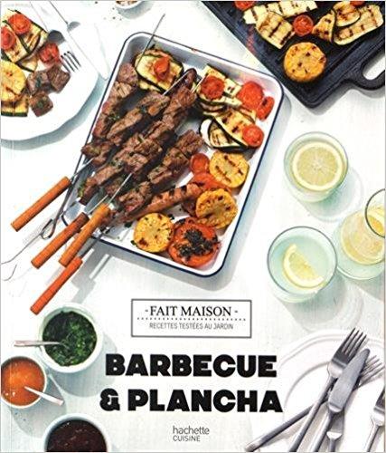 Livre recette plancha Barbecue & plancha Recettes testées dans le jardin