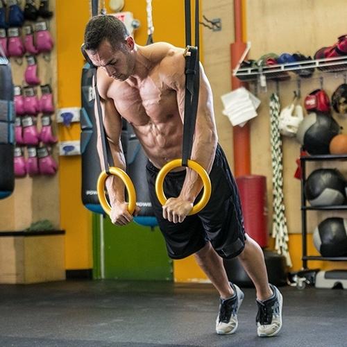 Meilleurs anneaux gymnastique CrossFit