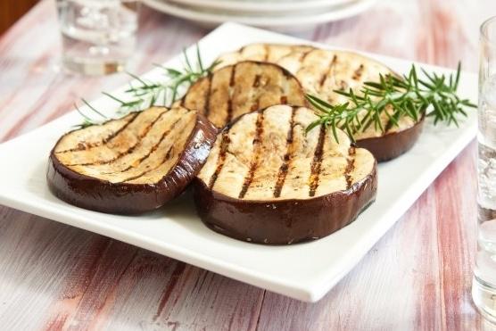 Recette barbecue plat aubergines grillées
