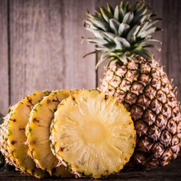 Aliments perdre ventre fruits ananas