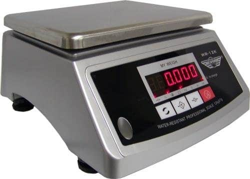 Balance de cuisine professionnelle My Weigh WR 12K