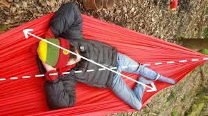 Dormir hamac position