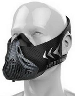 Masque d'entrainement haute altitude SharkFit