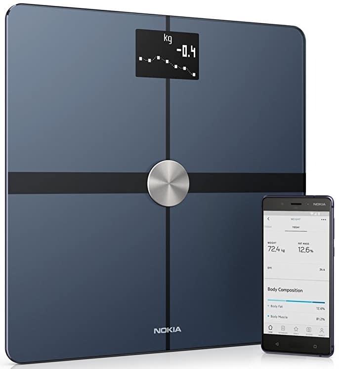 Pèse personne impédancemètre connecté Nokia Body+