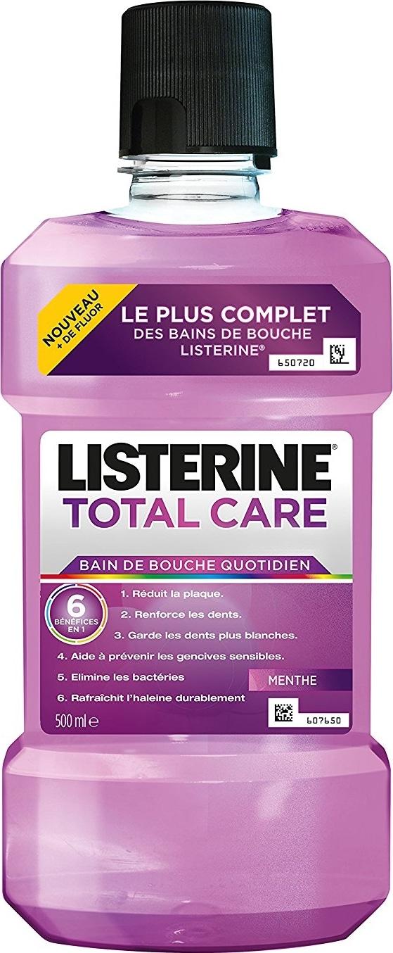 Bain de bouche Listerine Total Care