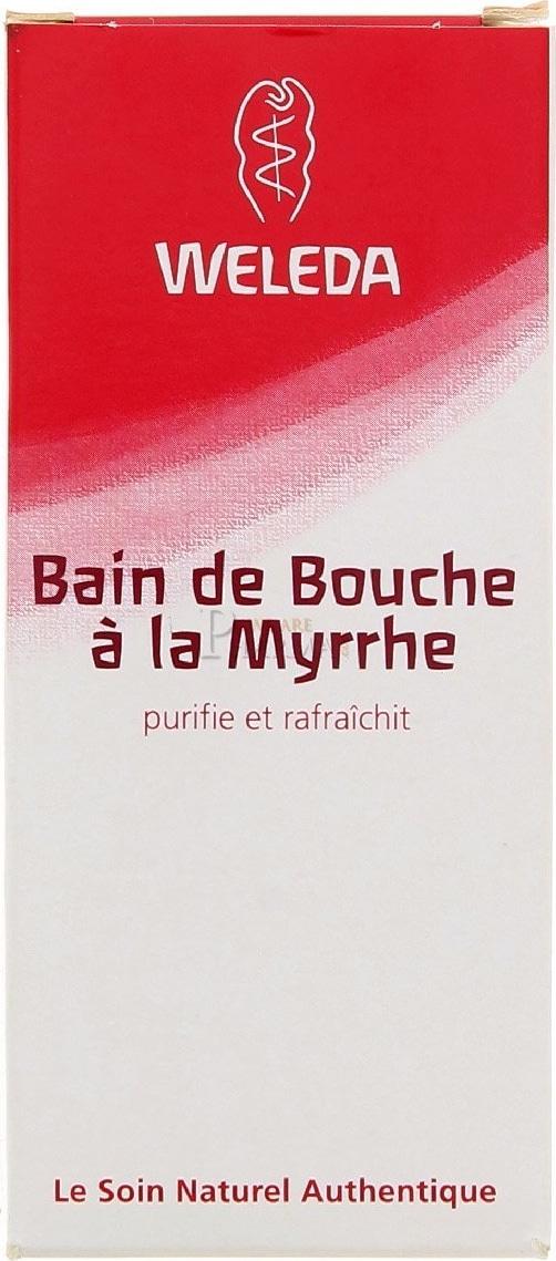Bain de bouche Weleda Myrrhe